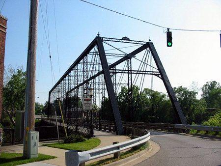 Belinda Street Bridge ~ Bay City Michigan ~ The bridge was ...