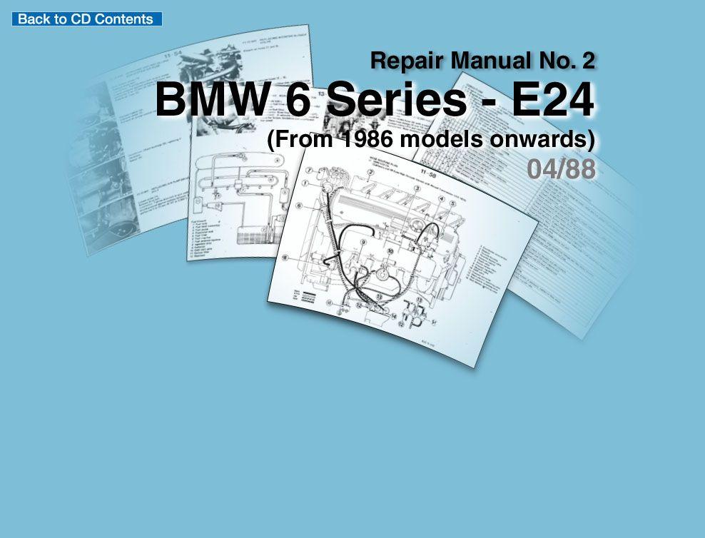Repair Manuals Http Www Bmwtechinfo Com Repair Main 631en Index Htm Http Www Malloc Nl Bmw 635csi Pages En Index Html Repair Manuals Bmw Bmw 740
