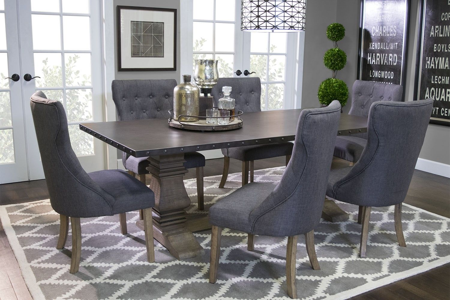Mor Furniture For Less: The Zinc Dining Room | Mor Furniture For Less