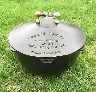 Vintage Original SR 1948 Cook 'N' Tools Cast Iron Cook 'N' Kettle Tulsa  Oklahoma | Vintage cooking, Cook n, Kettle
