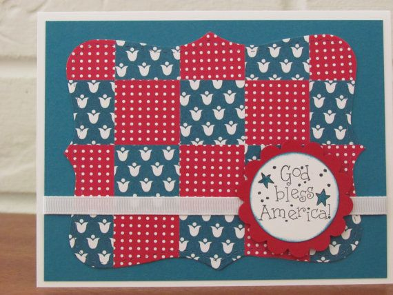 4th july independence day homemade greeting cards  cards