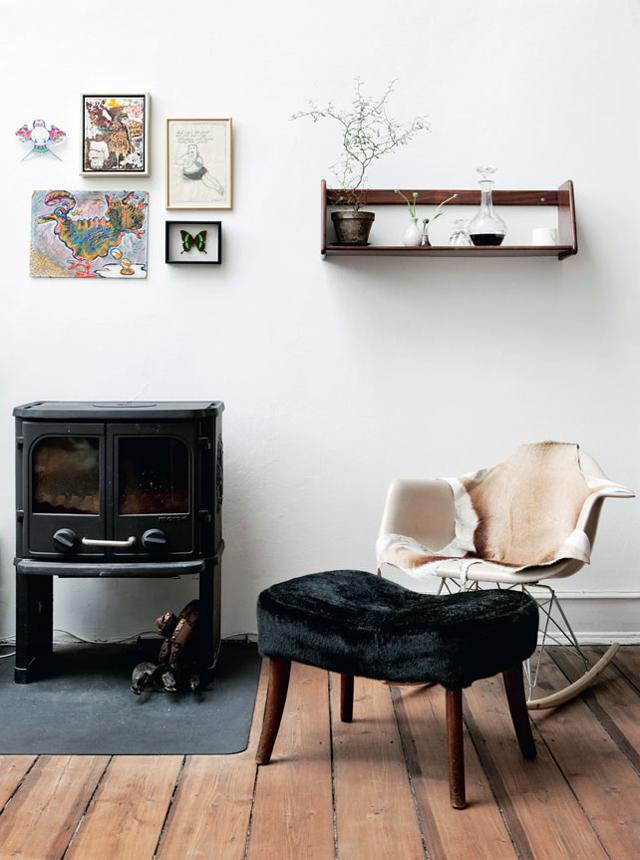 Une maison industrielle danoise aux airs de cottage romantique blog decouvrir design pinterest - Maison industrielle ...