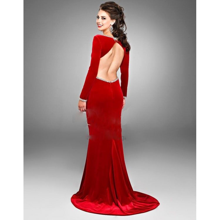 Formal Evening Dresses With Sleeves | EVENING LONG SLEEVE DRESSES ...