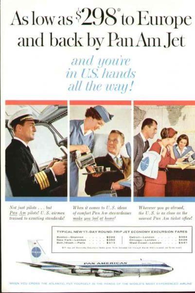Pan Am 1970 Antartica Penguins Vintage Poster Print Retro Travel Advert