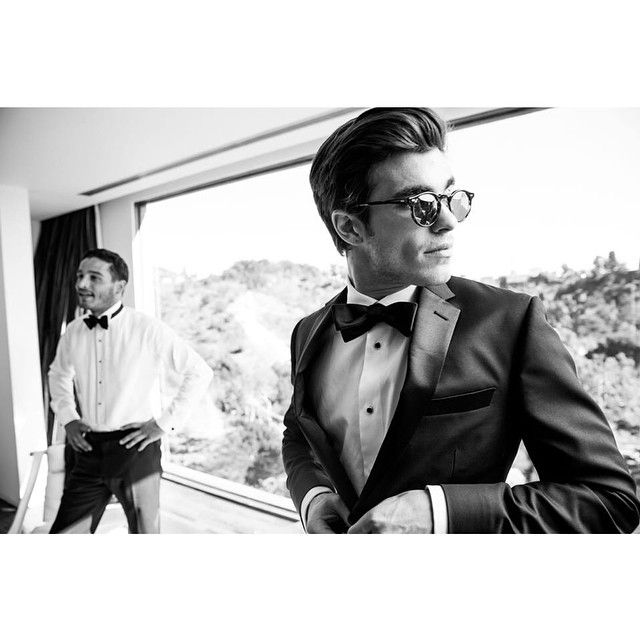 """""""You can never be overdressed or over educated."""" - Oscar Wilde. This is it—the perfect tux you've been searching for. Pair our Notched Lapel Tux with a classic black bowtie or go rogue with something unique. You really can't go wrong."""