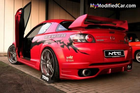 mazda rx8 tuning tuned cars. Black Bedroom Furniture Sets. Home Design Ideas