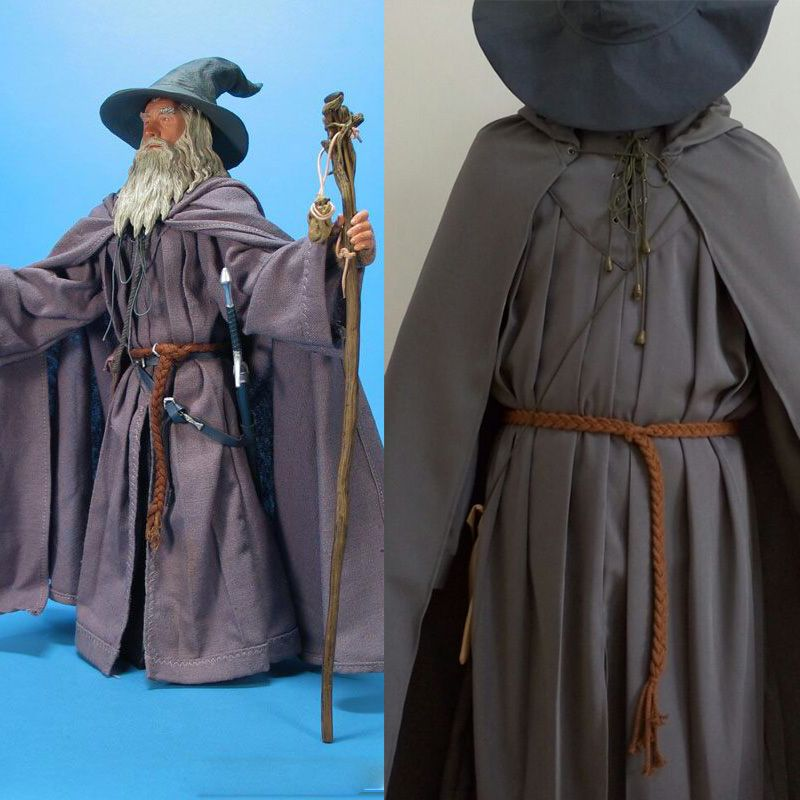 The Lord of the Rings Cosplay Costume Gandalf Grey Costume ...
