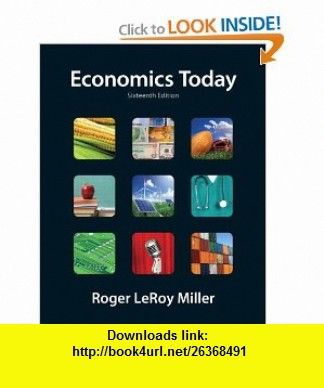 Economics today 16th edition the pearson series in economics economics today the macro view plus myeconlab with pearson etext student access code card package edition pearson series in economics a book by roger fandeluxe Images