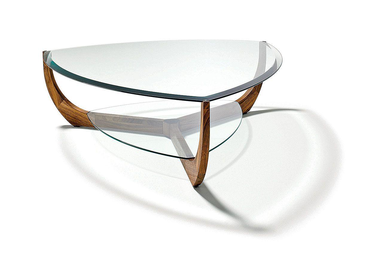 Le Living Voit La Vie En Couleurs Table Basse Triangulaire Table Basse Chene Table De Salon