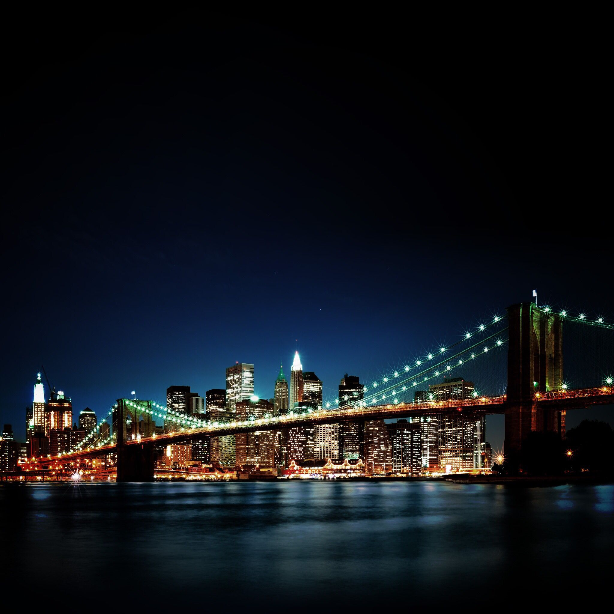 Bridge at night การถ่ายภาพ