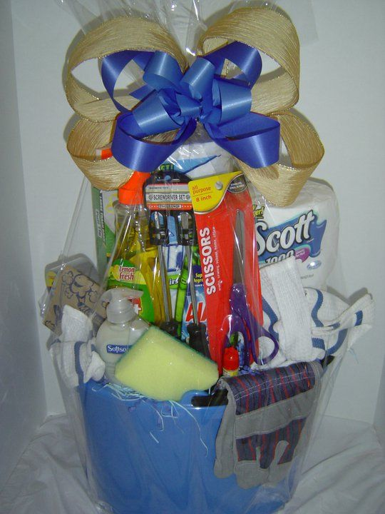 Welcome To Your New Home Basket The Perfect Gift For A New Home