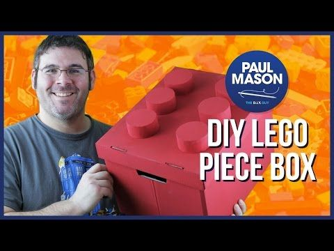 I've been a fan of lego since I was a small child, and have accumulated a decent box load of it. Today I show you how to convert your boring old lego box int...