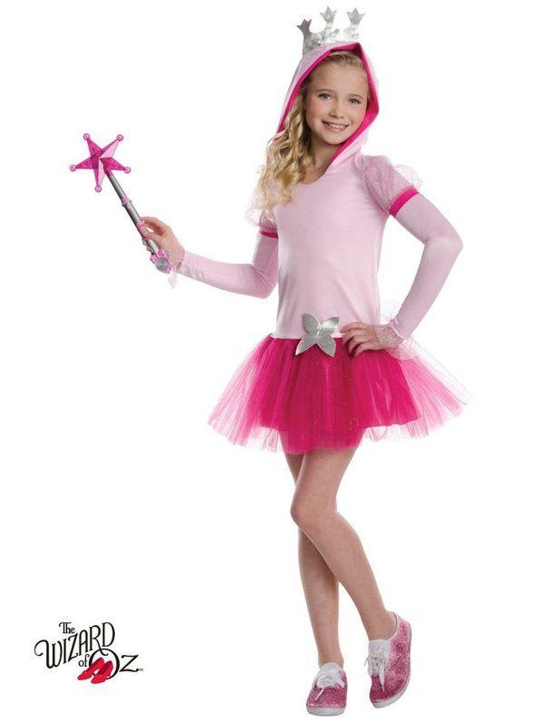 Wizard of Oz Glinda Hoodie Tutu Child Costume | Halloween ...