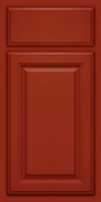 KraftMaid Cabinets -Square Raised Panel - Veneer (GV) Maple in Cardinal from waybuild