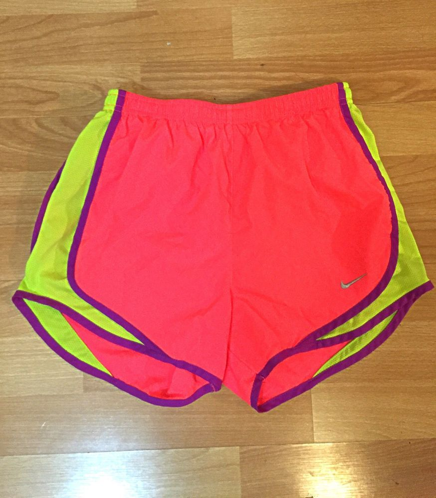 b2e670e7fe68 Nike Dri-Fit Tempo Pink Running Shorts with Built in Underwear Size XS #Nike  #Shorts