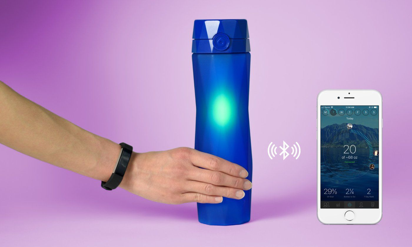Hidrate Spark 20 Smart Water Bottle Tracks Your Water Intake