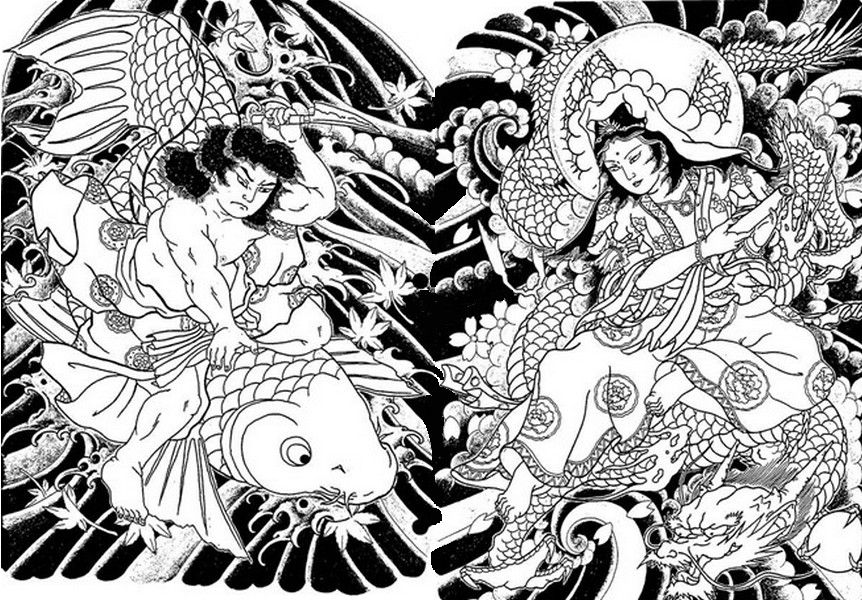 Garden Coloring Pages for Adults | Colorear para adultos > Colorear para adultos Japon