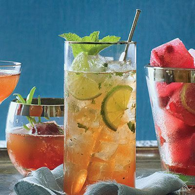 Cocktail Recipes: Cranberry Mojito