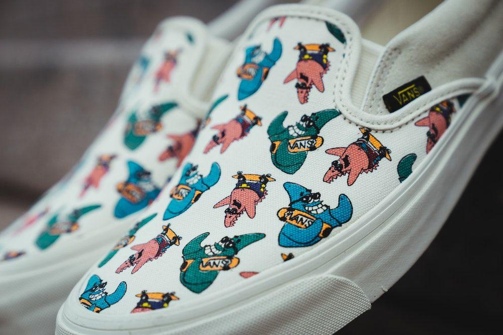 2879bceed7 Spongebob Vans Collab | Licensing Biz | Shoes, Sneakers, Vans