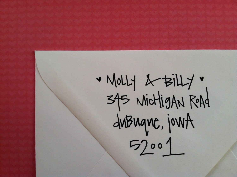 Hand Lettering & Envelope Writing Services - Custom #wedding ...