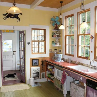 kitchen vintage kitchens design ideas pictures remodel and decor eclectic kitchen eclectic on kitchen ideas quirky id=32329