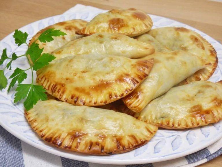Empanadillas De Espinacas Y Queso De Cabra Mis Cosillas De Cocina Empanada De Espinacas Receta De Empanadas Queso De Cabra