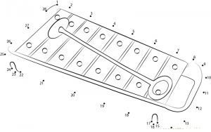 This page has a lot of free printable Musical instruments