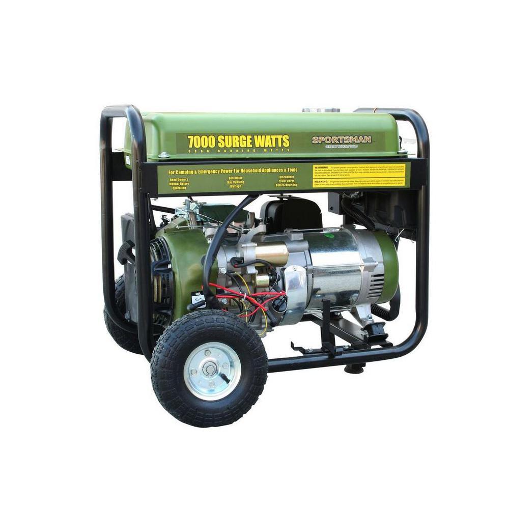 Sportsman 7,000/6,000Watt Gasoline Powered Electric Start