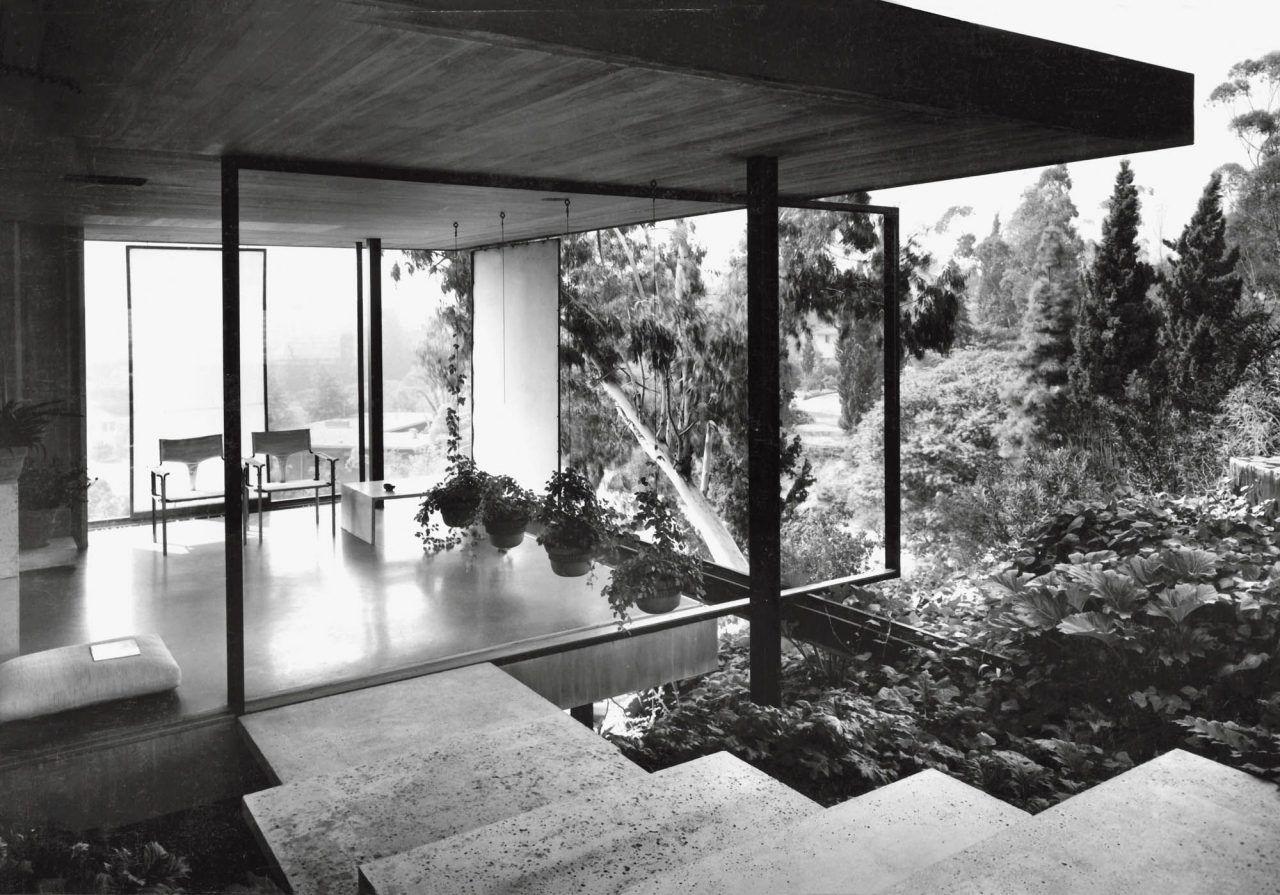 Thornton Ladd Paul Tuttle House Pasadena 1952 Modern Mansion California Modern Mid Century Exterior