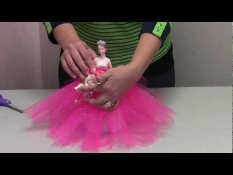 b597f0a9c Como hacer una Muñeca con Falda de Flores -Bombonera- Hogar Tv por ...