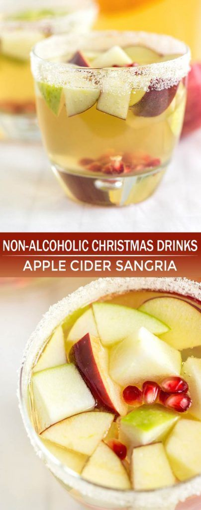 9 Non-Alcoholic Christmas Drinks That Are Perfect for the Holidays #nonalcoholicbeverages