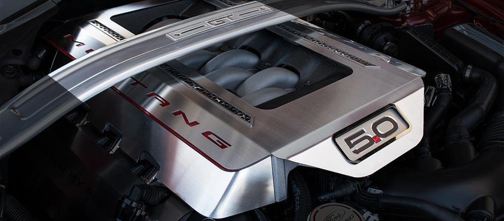 2015 2017 Mustang Light Up Engine Shroud Cover 5 0 Gt Stainless Steel Choose Led Color Volkswagen Phaeton