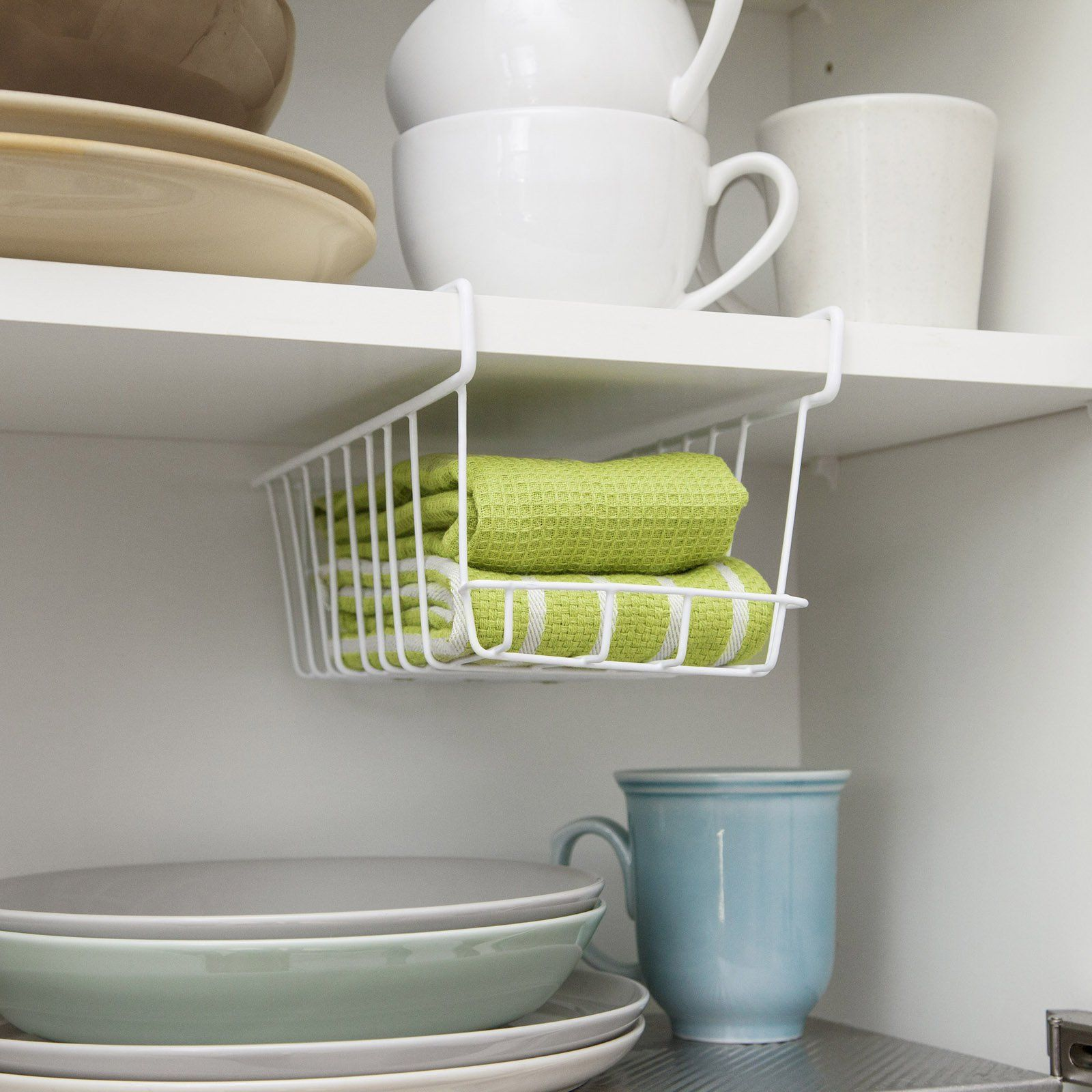 Iris Usa Under Shelf Storage Basket - From Hayneedlecom