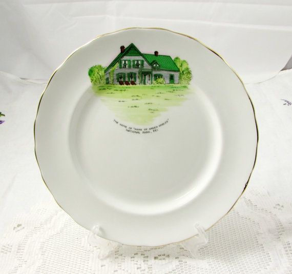 Elizabethan Anne Of Green Gables Collectible Plate