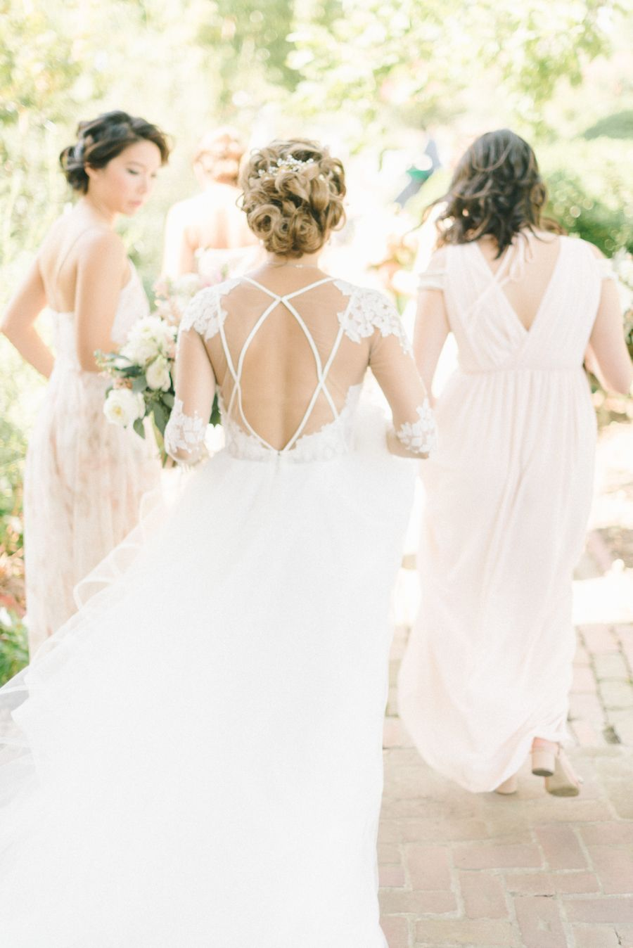 Pretty in Pink for this Romantic Virginia Wedding | Hayley paige ...