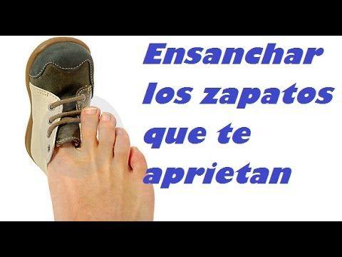 Ensanchar Los Zapatos Que Aprietan O Te Rozan Softening Shoes To Tighten Como Ensanchar Unos Zapatos Zapatos De Cuero Zapatos