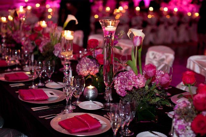 Elegant Fuschia Wedding Decor Google Search