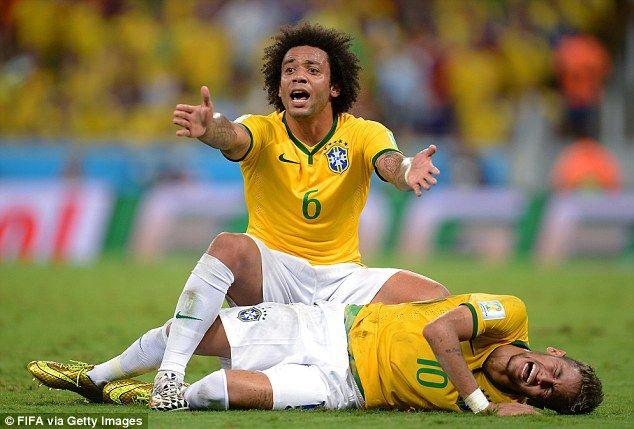 Neymar Out Of World Cup With Broken Bone In His Back Neymar Neymar Injury Brazil Football Team