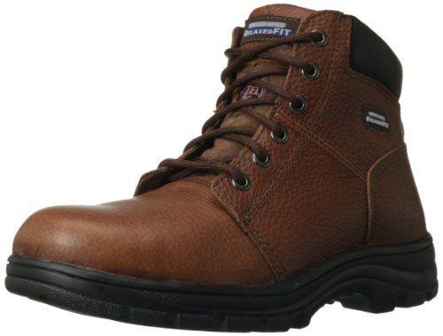 Work Steel Toe Boot