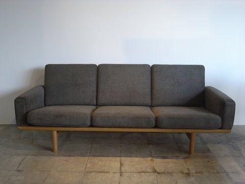hans j wegner ge 236 3 for the home pinterest. Black Bedroom Furniture Sets. Home Design Ideas