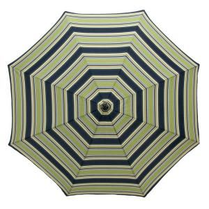 plantation patterns 7 1 2 ft patio umbrella in burkester stripe