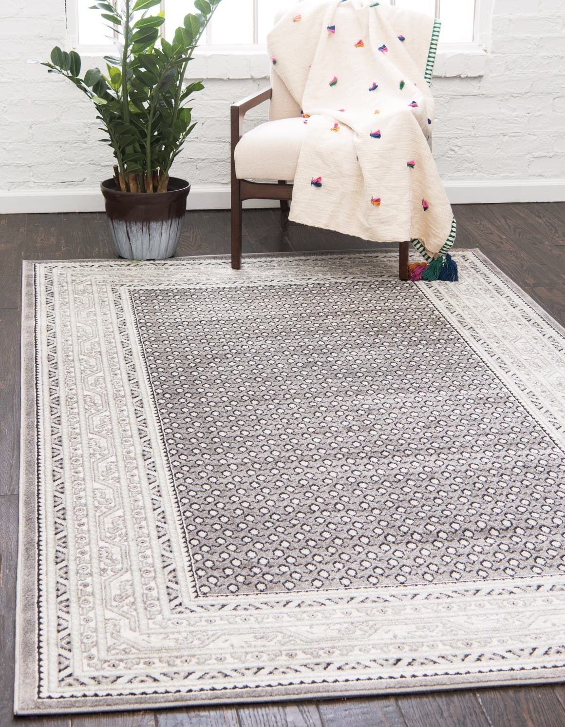 Gray Tribeca Area Rug Living Room Area Rugs Rugs Area Rugs For Sale