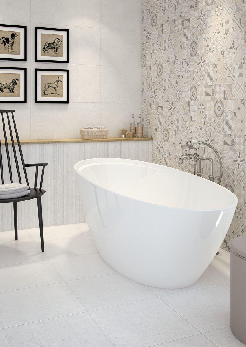 Cat logo de azulejos efecto cemento baderom bathroom - Suelos porcelanicos para cocinas ...
