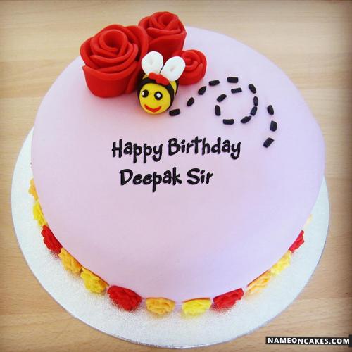 Imágenes De Deepak Name Birthday Cake Pic