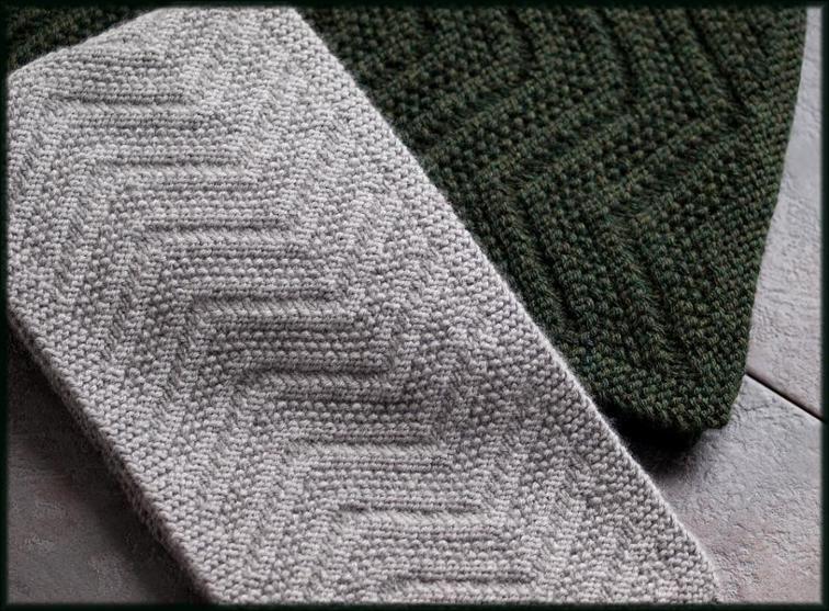 Beckenham Scarf Mens Scarf Reversible Design Knitting Patterns