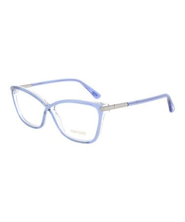 e1254811a98a  119.99 marked down from  350! Tom Ford Periwinkle Square Eyeglasses   periwinkle  eyeglasses  tomford  designer  zulily!  zulilyfinds