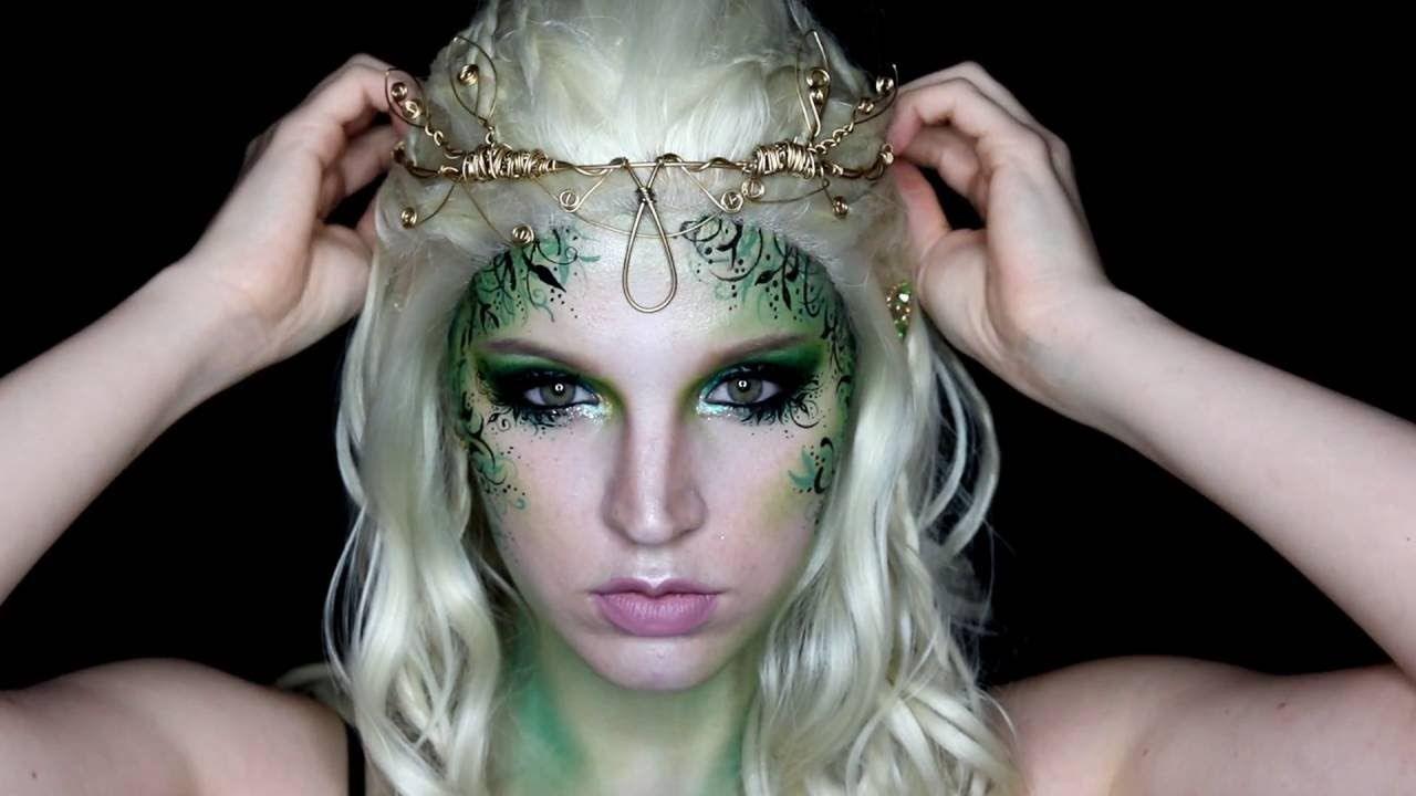Forest Fairy Makeup Tutorial By Nsomniaksdream Fairy Makeup Woodland Fairy Makeup Pixie Makeup