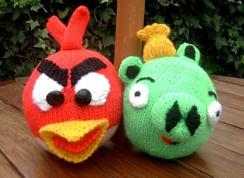 @Linda Johnson Oh my goodness. I know a little boy who loves Angry Birds and his Grandmommy J is the bestest crocheter ever. ;)