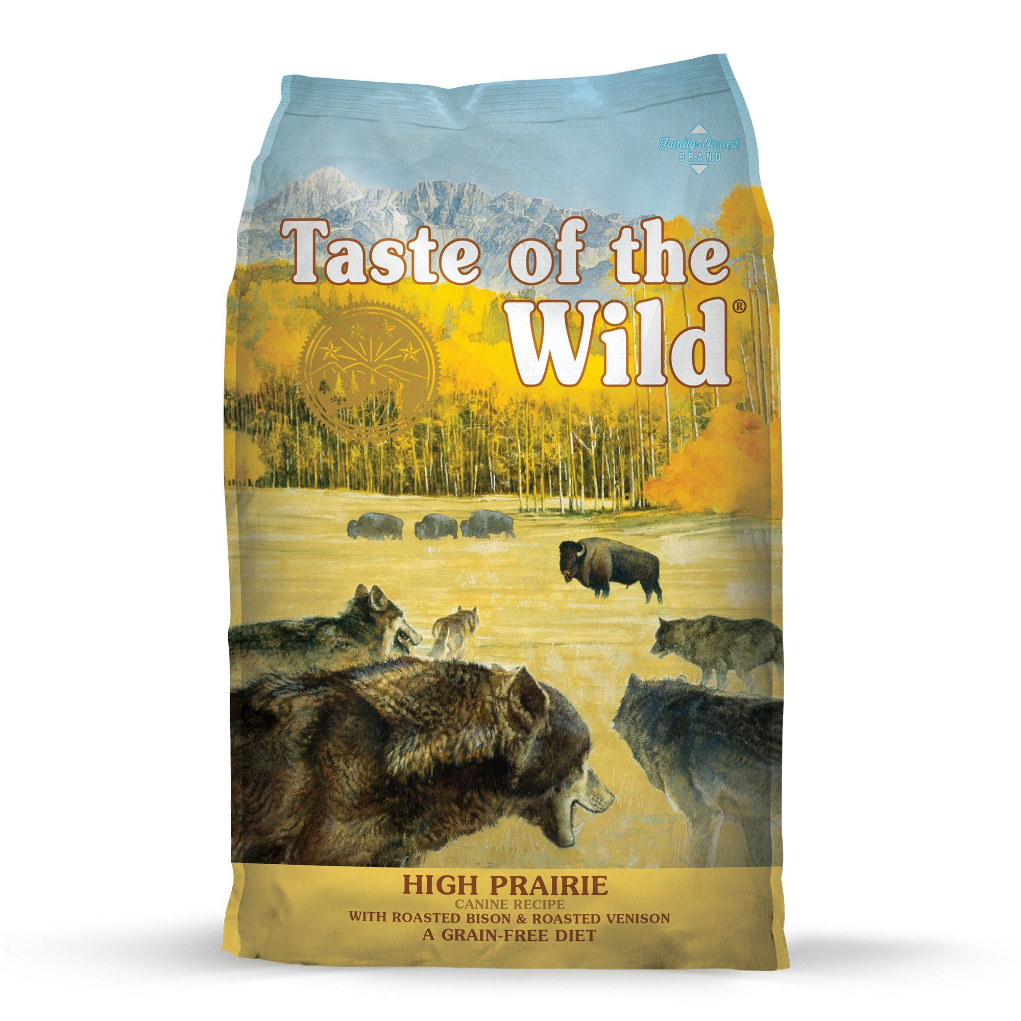 Taste Of The Wild High Prairie Grain Free Roasted Bison Venison