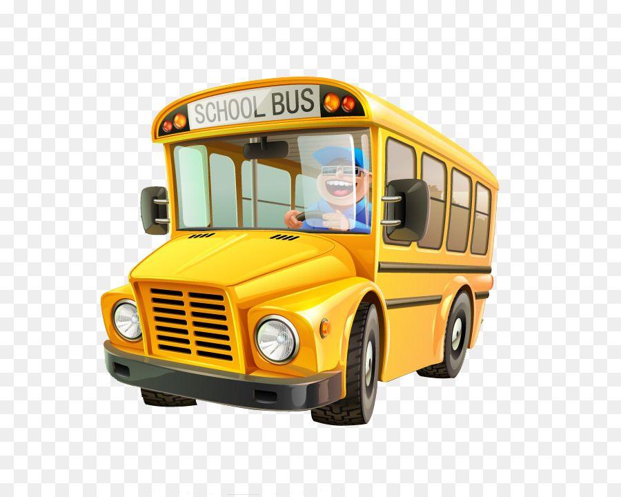 School Bus Cartoon School Bus With Images Bus Cartoon